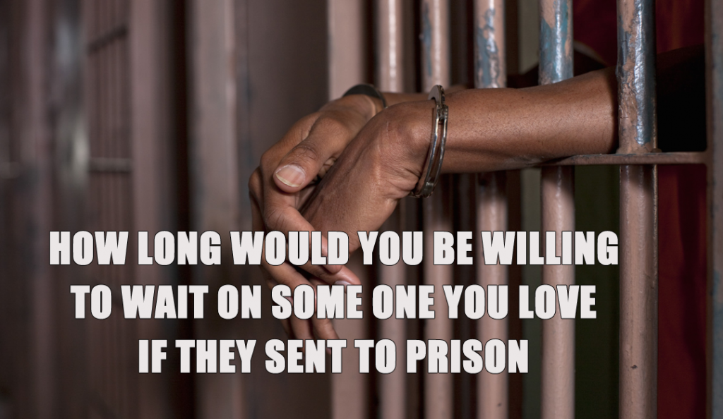 How Long would you be willing to wait on someone in prison