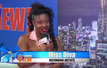 Miss Diva Montreal Reggae artiste interview and performance on (G VIEW TV)