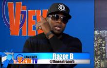 Razor B silents the critics Razor B nah lef living a happy moment on the 47th Floor