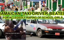 Jamaican Taxi Driver Beaten for allegedly raping of school girls