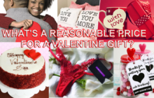 What's a reasonable price for a valentine gift for your Significant other?