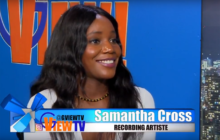 Samantha Cross premiere her new music video play toys