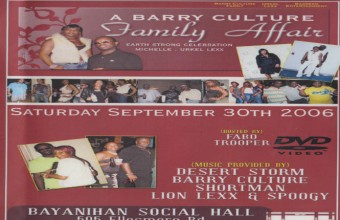 Barry Culture Family Affair 2006 SD