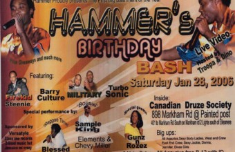 Hammer's Birthday Bash 2006