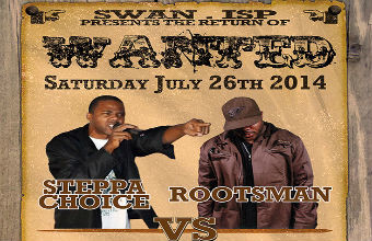 Watch Wanted Soundclash Ondemand Rootsman Vs Steppa Choice! $4.99