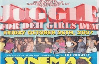 Juggle For Deh Girls Dem 2007 Feat Synemax