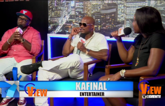 A sit down interview with Kafinal on G-VIEW TV