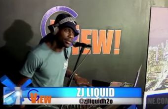 Disc Jockey / Producer ZJ Liquid H2O Juggling on G VIEW TV