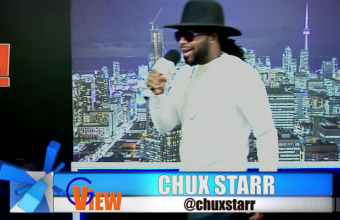 Chux Starr after interview Performance on G VIEW TV