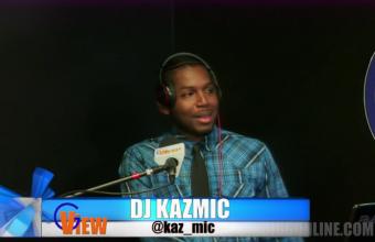 dj KAZMIC juggling on G VIEW TV