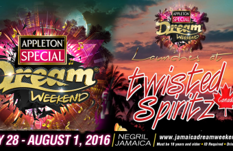 Ron Burke promoting Twisted Spiritz & Dream Weekend
