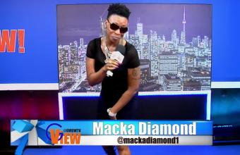Macka Diamond Performance of Chinese Jordan (Dexta Daps Counteraction) live