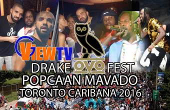 Popcaan Mavado Drake OVO Fest and Toronto Caribana 2016