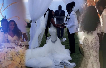 Aidonia and Kimberly's wedding, Aidonia Got Married