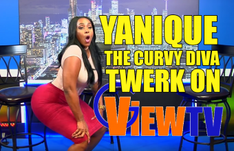 Yanique the curvy Diva Twerk on G View TV talk about her Curvy Shape