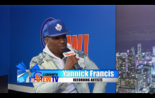 Yannick Francis Premiere new music video stay with me  on G View TV