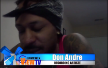 Don AndreWorld Premiere Chrome Whine Music video G View TV