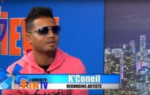 K' Corneil stop by on G View TV to talk about his musical career