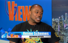 Reime Schemes a rising Hip Hop artist on G VIEW TV