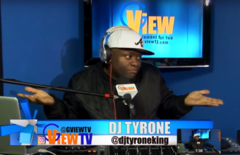Dj Tyrone Talks about djs not been treated fairly by Canadian Promoters