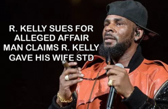 R. Kelly sues for alleged affair, Man claims R. Kelly gave his wife STD