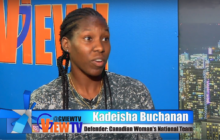 Kadeisha Buchanan #3 Canadian National women's soccer  team defender on G VIEW TV