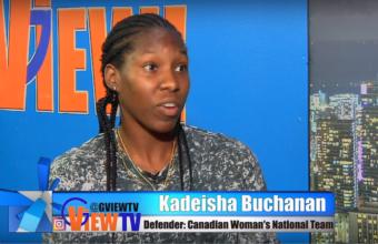 Kadeisha Buchanan #3 Canadian National women's soccer  team defender on G VIEW TV