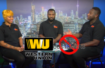 Western Union – banned customers from using service