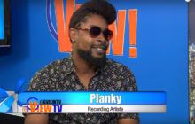 Planky the box dem general premiere his new music video leggo mi hand